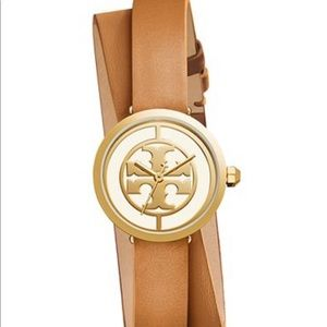 New with tags Tory Burch Reva double wrap watch
